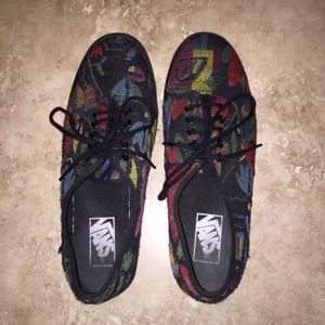 Vans Authentic Lo Pro Tapestry Floral Sneakers